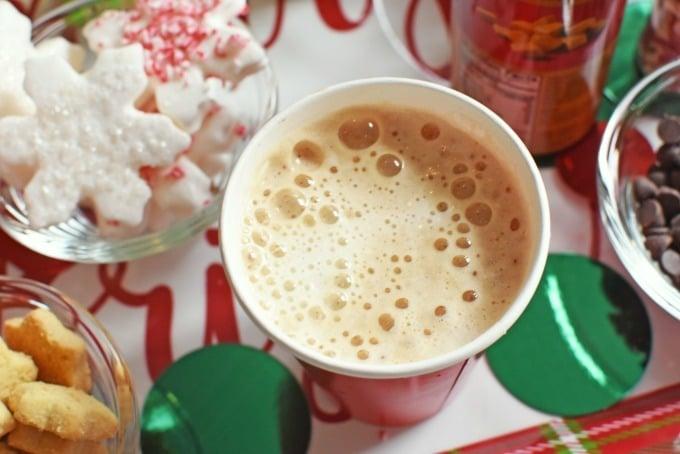 Latte with foamed milk1