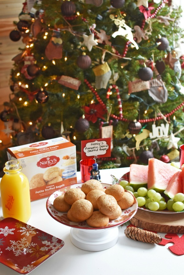 Holiday Brunch Ideas with Bagels
