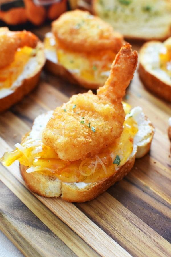 Orange Marmalade and Shrimp Appetizer1