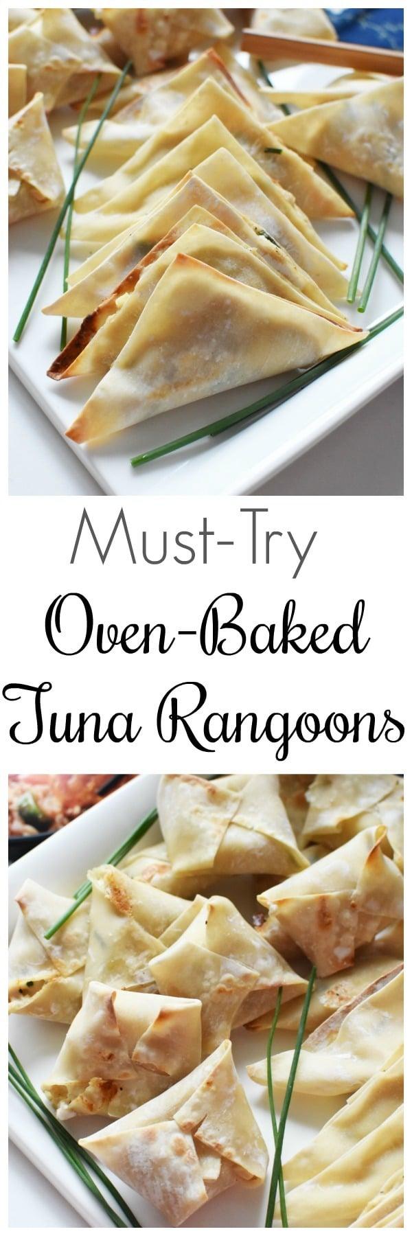 Oven-Baked Tuna Rangoons Recipe