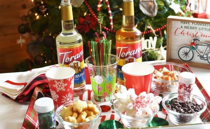 Torani Holiday Coffee Bar