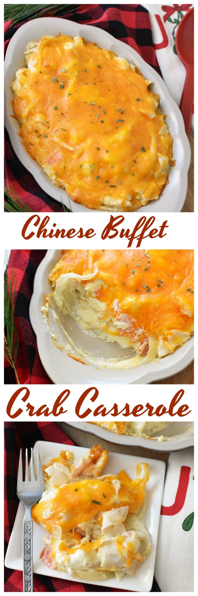 Crab Casserole Recipe- Just like the one from Chinese Buffets