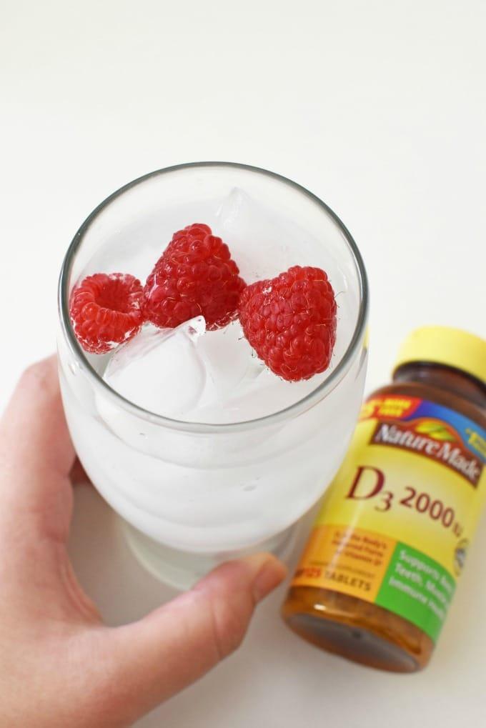 Raspberry water1