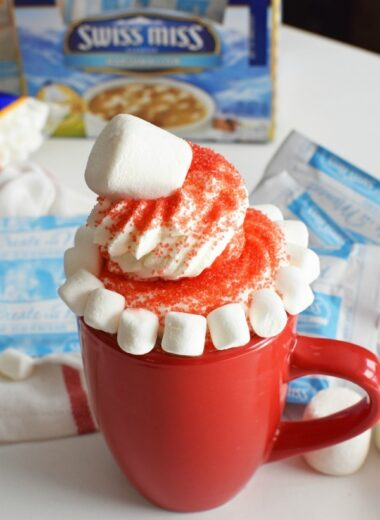 Santa Hat Hot Cocoa