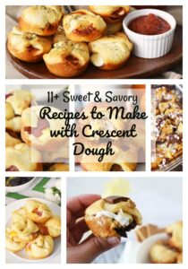 11+ Sweet & Savory Recipes to Make with Crescent Dough