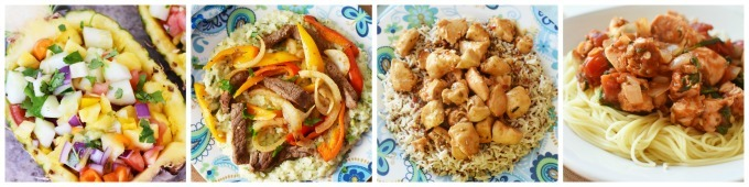 Dinner Recipe photography examples