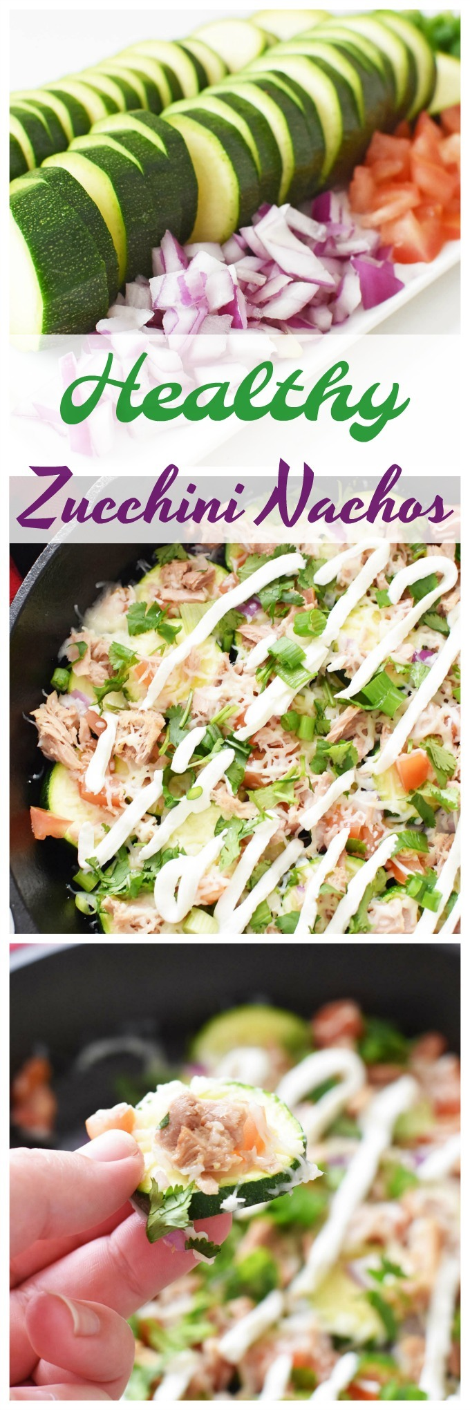 Healthy Zucchini Nachos Recipe