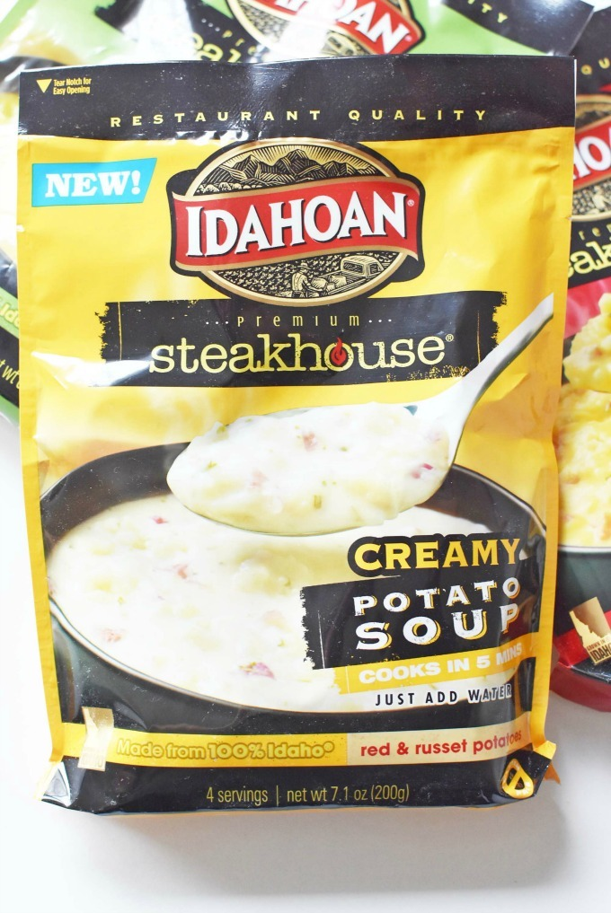 Idahoan Steakhouse Soup pouch1