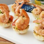 15 Minute Easy Yummy Shrimp Guacamole Cups