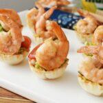 15 Minute Easy Yummy Shrimp Guacamole Cups