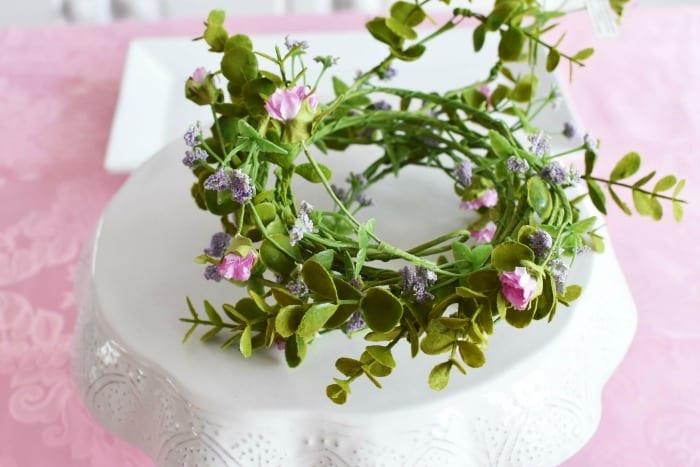 Floral Wire Garland