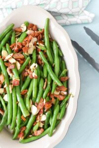 Garlic Bacon Sauteed Green Beans Made With Lard