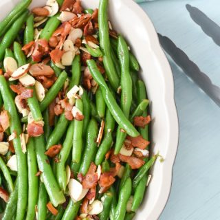 Green Beans with Almonds and Bacon1
