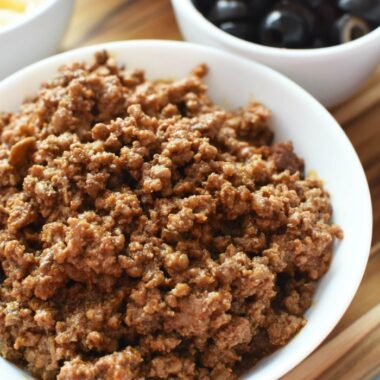 Mushroom and Ground Beef Blend 1