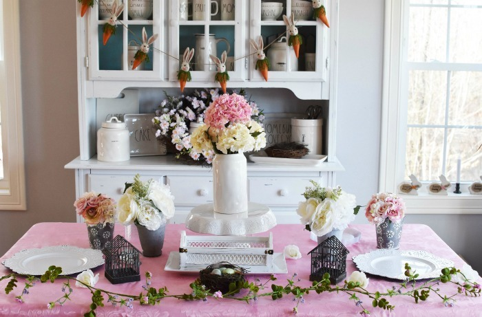 Spring Floral Tablescape Party1