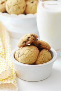 The BEST Ever Almond Flour Gluten Free Chocolate Chip Cookies