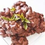 Chocolate Almond Clusters with Sea Salt