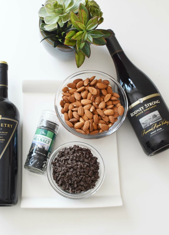Chocolate Covered Almonds and Wine Pairing 1