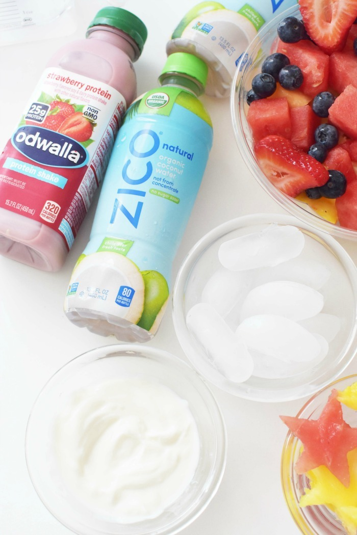 Fruit Salad Smoothie 1