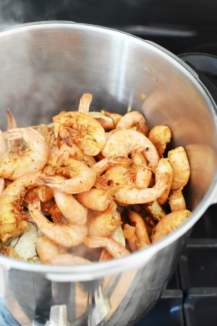 Spiced Gulf Shrimp Boil 1