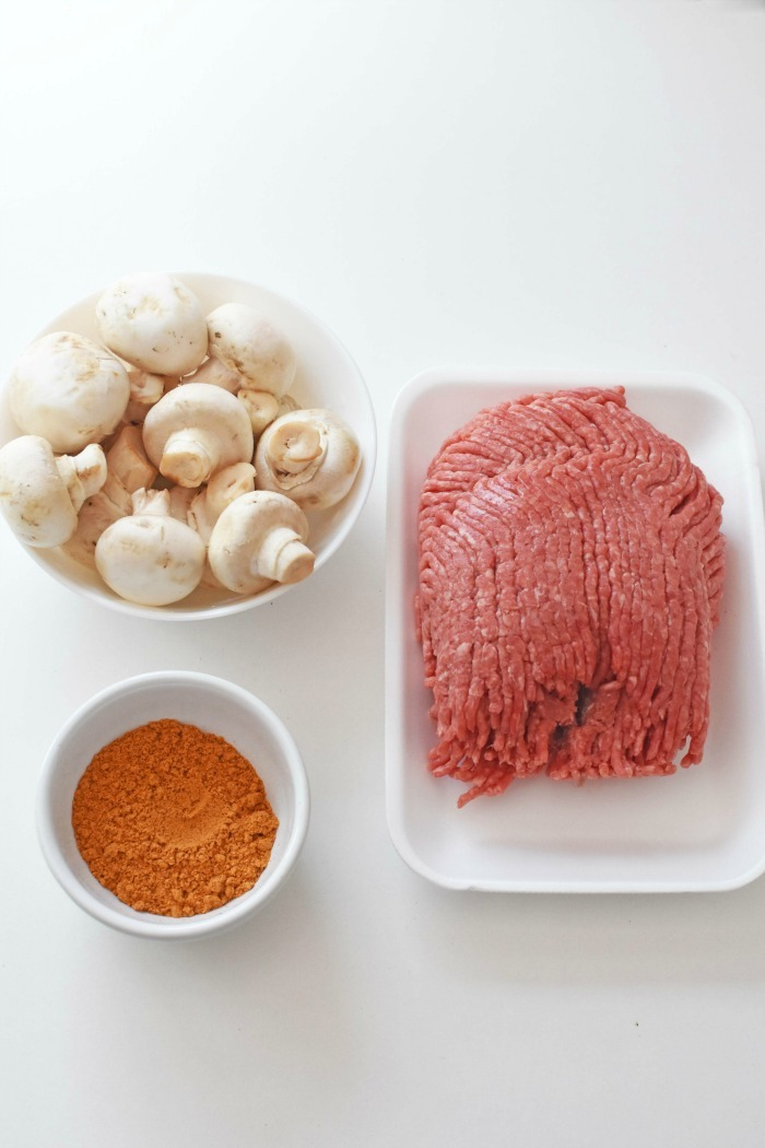 Mushroom, meat, and taco seasoning 1