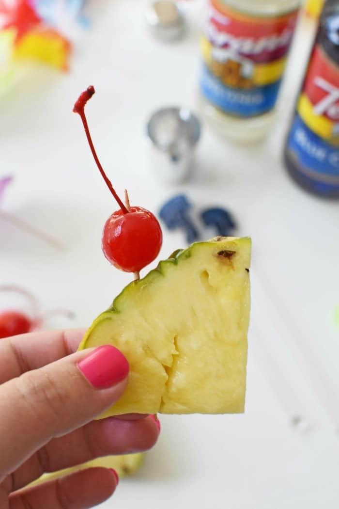 Cherry and Pineapple Chunks 1