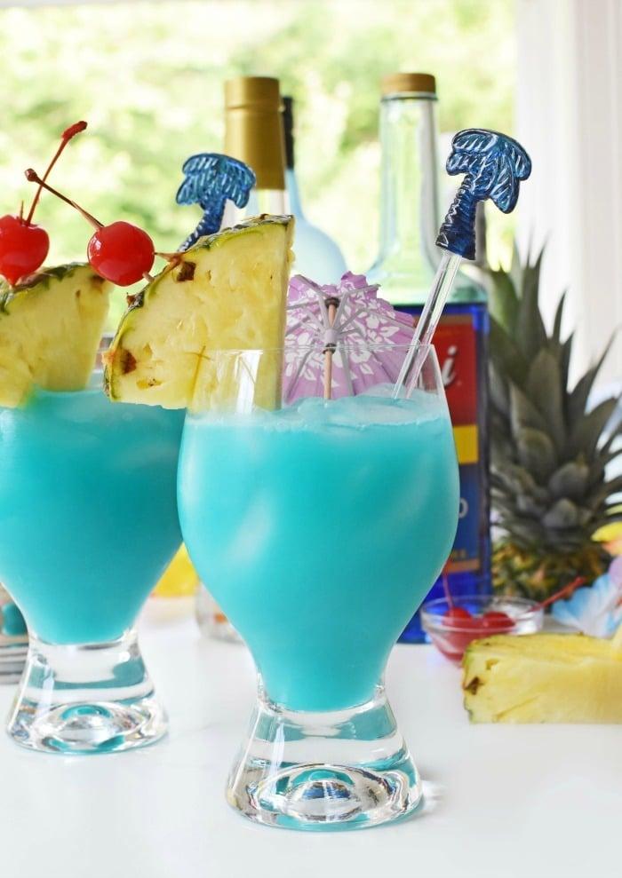 Torani Blue Hawaiian Drink 1