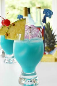 Torani Blue Hawaiian Drink 2