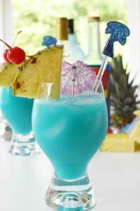 Tropical Torani Blue Hawaiian Drink Recipe