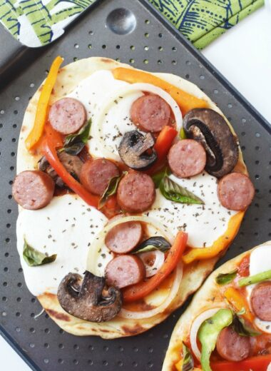 Grilled Flatbread Pizza 1