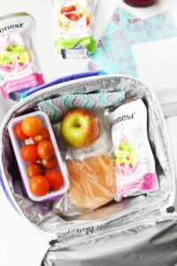 Quick and Easy DIY No-Sew Lunchbox Napkins