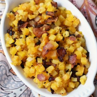 Bacon & Butternut Side Dish 1