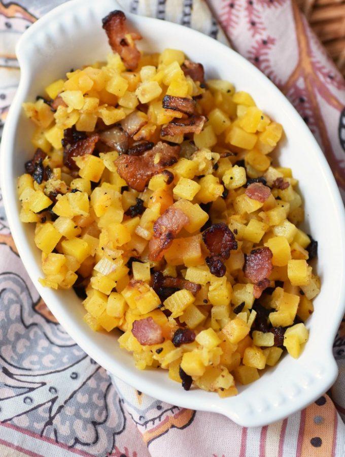 Bacon & Butternut Side Dish 1