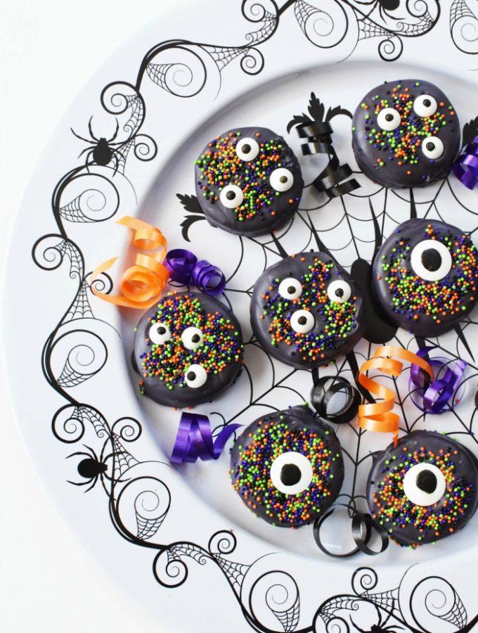 Black Candy Eye Oreos