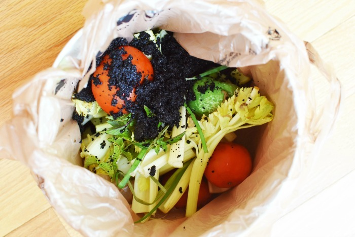 Composting Veggies 1
