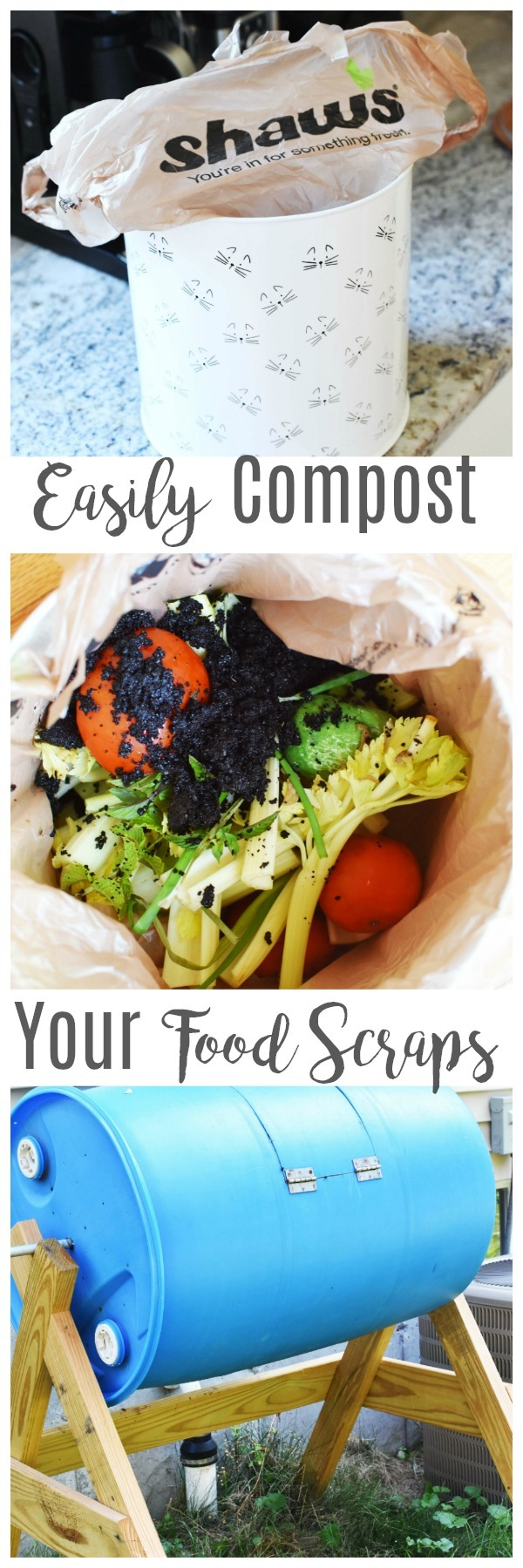 Easily Compost Your Food Scraps