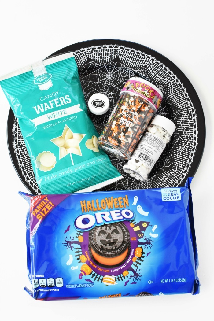 Halloween Oreos Ingredients 1