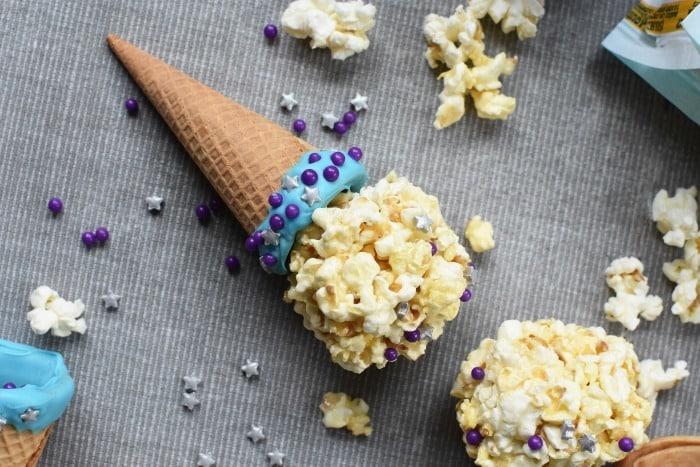 Ice Cream Pop Corn Balls 1