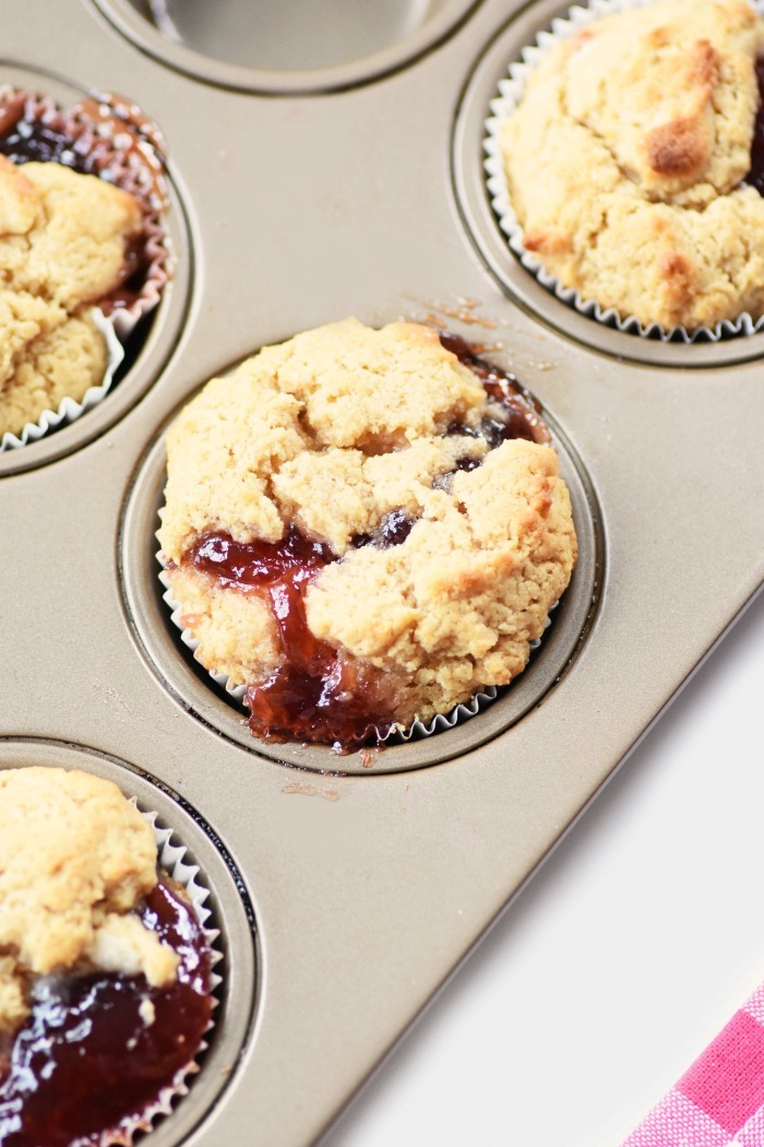 PB & J Muffins 1