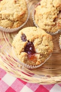 Peanut Butter & Jam Sandwiches & Muffins – Amazingly Delicious!