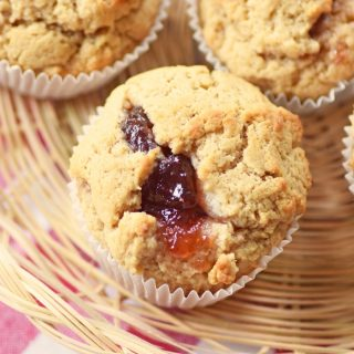 Peanut Butter and Jelly Muffin Recipe 1