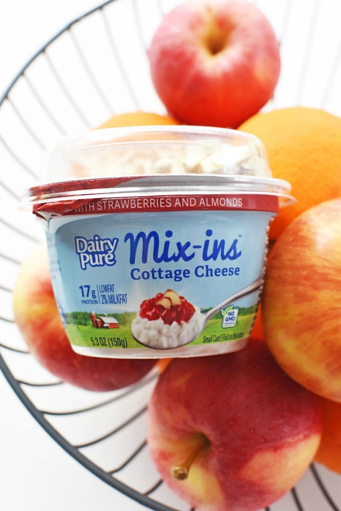 Dairy Pure Mix ins with fruit 1