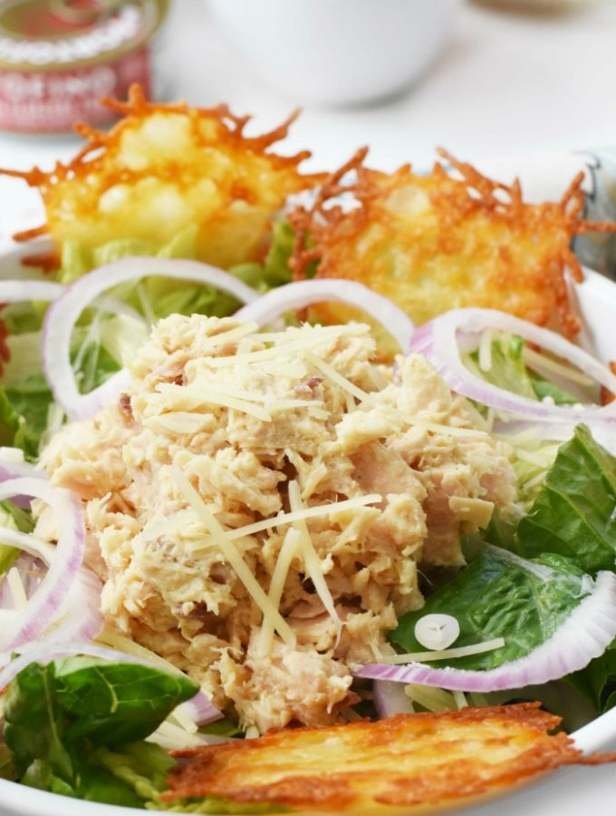 Tuna Cesar salad recipe 1