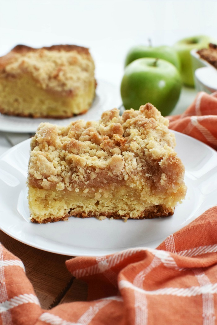 Apple Spice Crumb Cake with Mayo 1