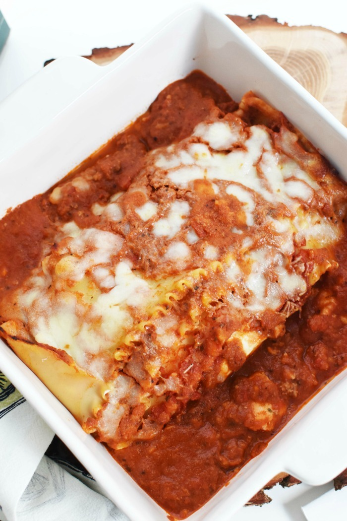 Cheese Lasagna meal 1