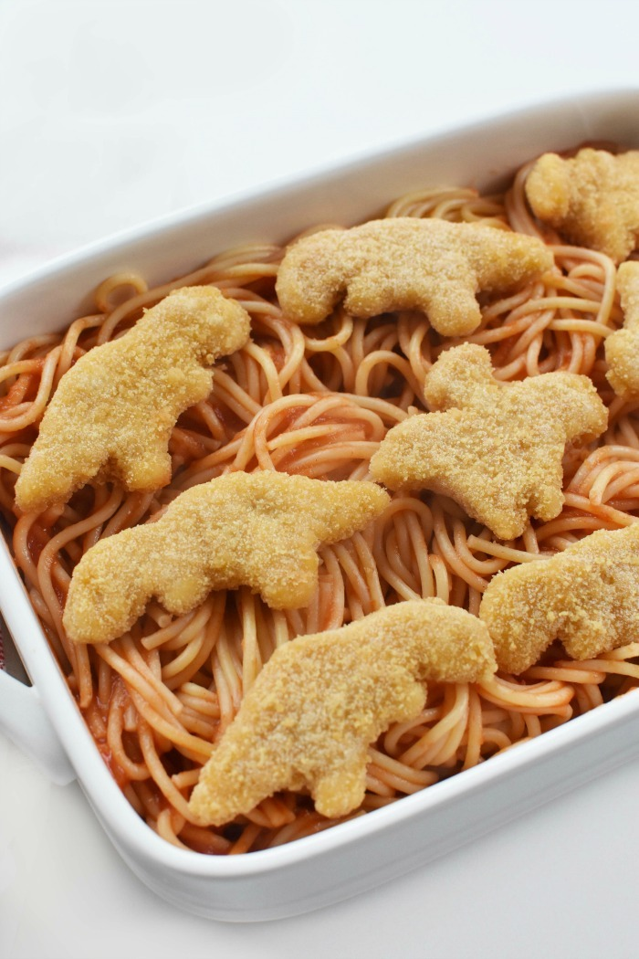 Chicken Nugget Spaghetti recipe 1