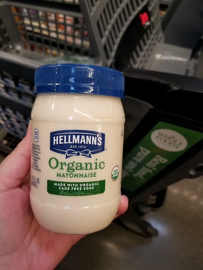 Hellmann's organic at Whole Foods