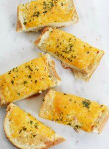 Italian Dressing garlic bread recipe 1