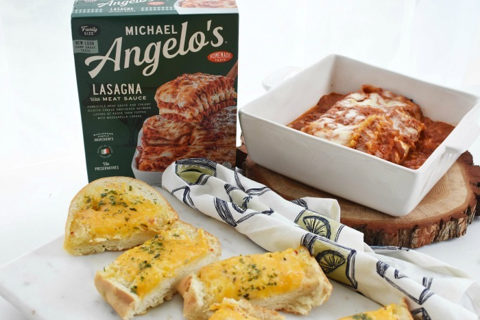 Michael Angelos Cheese Lasagna Meal 1
