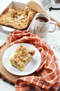 Organic Apple Spice Crumb Cake Recipe 1